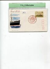 1976 JAPAN FDC - SHIP SERIES KINAI-MARU   # S471