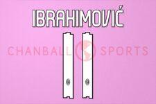 Ibrahimovic #11 2010-2011 AC Milan Homekit Nameset Printing