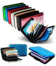 10 Piece Set Aluminium Wallet Cash Credit Card Holder Unisex Wallet Purse