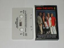 Abba The Hits 2. 14 Track Cassette Album. 1988. Play Tested.