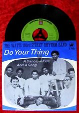 Single Watts 103rd Street Rhythm Band: Do Your Thing