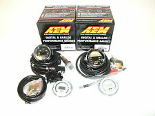 AEM (2 Gauges Combo) - UEGO 4.9LSU WideBand A/F Ratio + Turbo Boost Pressure
