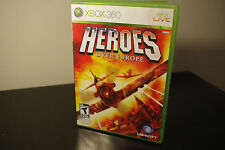 Heroes Over Europe (Microsoft Xbox 360, 2009) *Tested / Complete