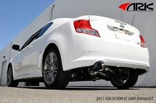 2011-2014 Scion tC 2.5L 2AR-FE ARK PERFORMANCE GRIP EXHAUST - POLISHED TIP