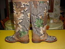 """CHIPPEWA 25101 D 17"""" VIPER CLOTH SNAKE Boots Mens 7D"""