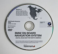 Authentic BMW X3 X5 (E53) Z4 Navigation DVD CD # 695 WEST Map Update © 2012 OEM