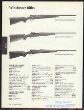 2006 WINCHESTER Model 70 Classic Featherweight, WSSM, Super Grade Rifle AD
