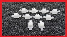 10x FORD CARS Front Wheel Arch Trim Clips Wing Wheel Arch Surround Clips White
