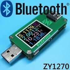 USB 3.0 Power Monitor USB current-voltage coulometer capacity meter + Bluetooth