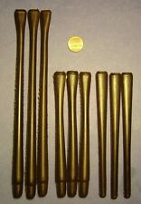9 COMBO CHURCHWARDEN-READING PIPE EBONITE MOUTHPIECES STEMS NEW TOP QUALITY NICE