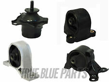 4pc Engine Motor Mount Kit for 01-02 Honda Civic 1.7L SOHC 4cyl Auto Trans