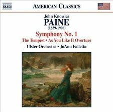 Paine: Symphony No. 1; Shakespeare's Tempest; Overture to As You Like It, New Mu