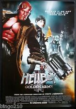 HELLBOY 2 THE GOLDEN ARMY POSTER RON PERLMAN SELMA BLAIR GUILLERMO DEL TORO