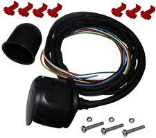 Kit faisceau prise fiche de remorque câble 2m câblage attelage 7pin 12V C12385