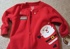 My Baby's 1st First Xmas Christmas Santa Snug Sleep Sack Onesie Bunting Sleeper