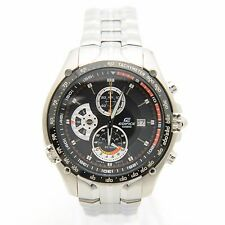 Casio Edifice EF-543D-2A Stainless Steel Tachymeter Chronograph Men's Watch