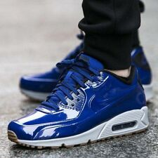 Nike Air Max 90 VT QS SHINY ROYAL BLUE HITS Shoe Mens Sz 13 831114-400 Leather