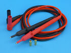 Brymen Silicone Gold Plated Test Leads / Probes for Multimeters CAT IV 1000V