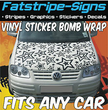 FORD FIESTA ST FOCUS ESCORT KA PUMA VINYL STICKER BOMB BONNET WRAP CAR GRAPHICS