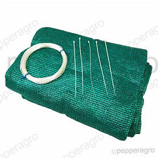 SHADE NET GARDEN NETTING GREEN HOUSE UVSTABILIZED AGRO 50% 12 SQ METERS(4M x3M)
