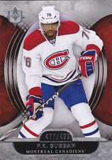 13-14 UD Ultimate P.K. Subban /499 Montreal Canadiens 2013