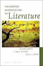 The Norton Introduction to Literature, Kelly J. Mays, J. Paul Hunter, Alison Boo
