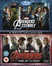 Marvel Avengers Assemble/Avengers: Age of Ultron [Blu-ray]