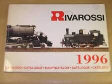 CATALOGUE RIVAROSSI 1996 / EN 5 LANGUES DONT FRANCAIS / 120 PAGES / BON ETAT