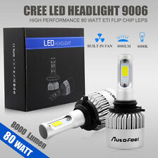 80W 8000LM 9006 HB4 CREE LED Lamp Headlight Kit Car Beam Bulbs 12V Upgrade 6000k