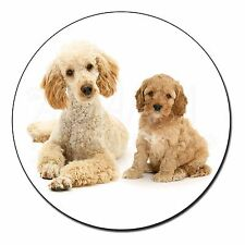 Poodle and Cockerpoo Fridge Magnet Stocking Filler Christmas Gift, AD-CP2FM