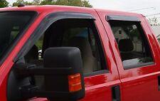 Tape-On Wind Deflectors for a 2005-2016 Nissan Frontier (4-door)