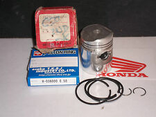 HONDA C50 SS50 +0.5mm OE PISTON + RINGS 036 RiK JAPAN  NOS
