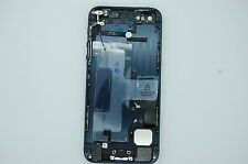 NEW IPHONE 5 BLACK COMPLETE BACK COVER, COMPLETE SHELL,HOUSING ALL INNER PARTS