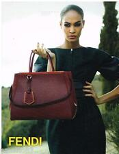 PUBLICITE ADVERTISING 105 2012  FENDI   collection sacs