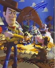 TOY STORY CAST AUTOGRAPH SIGNED PP PHOTO POSTER
