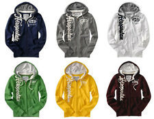 New Aeropostale Mens Zip Hoodie Applique Hooded Sweatshirt  Wholesale Lot of 15