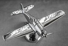 """ART DECO  AIRPLANE""  ""HAMILTON AIRPLANE TABLE LIGHTER""   ""FLUGZEUG"""