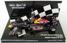 F1 1/43 RED BULL RB7 VETTEL SPANISH GP 2011 MINICHAMPS