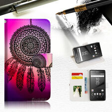 Dream Catcher Wallet TPU Case Cover For Sony Xperia XA -- A027