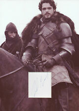 RICHARD MADDEN Signed 12x8 Photo Display ROBB STARK In GAME OF THRONES COA