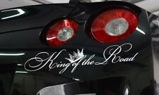 King of the Road Royal Fun JDM Stance Japan Car Windshield Vinyl Sticker Decal