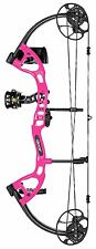 "NEW FRED BEAR CRUZER LITE RIGHTHAND PINK BOW PACKAGE 5-45# 12-27"" DRAW"