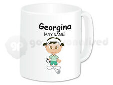 Personalised Golfing Gift Golf Mug Cup Sport Girls Golfers Novelty Present #2