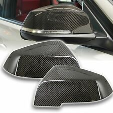 BMW CARBON FIBRE DOOR MIRROR COVERS F20 F21 F22 F30 F31 F32 F33 FOR 1 3 4 series