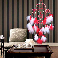 New Pure White Dream Catcher Feather Wall Hanging Decoration Ornament Beautiful