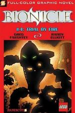 Bionicle #4: Trial by Fire (Bionicle Graphic Novels) by Farshtey, Greg