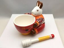 Andrea Fontebasso 1760 Adorable Bunny Rabbit Honey Pot