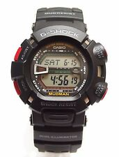 100% Authentic CASIO G-SHOCK MUDMAN Sport G-9000-1 Black Watch G9000 Original