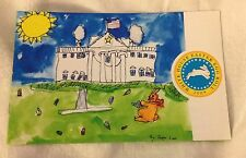 PRES OBAMA WHITE HOUSE 2009 EASTER PROGRAM  w MICHELLE SIGNATURE 1st YEAR