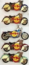 5 Hard Rock Cafe STOCKHOLM 1990s MOTORCYCLE Collection PIN LOT HRC Bikes Harley